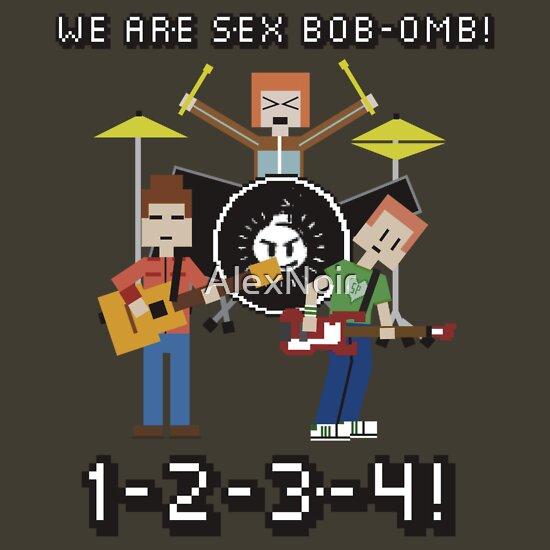 TShirtGifter presents: WE ARE SEX BOB-OMB! 8-BIT - Scott Pilgrim