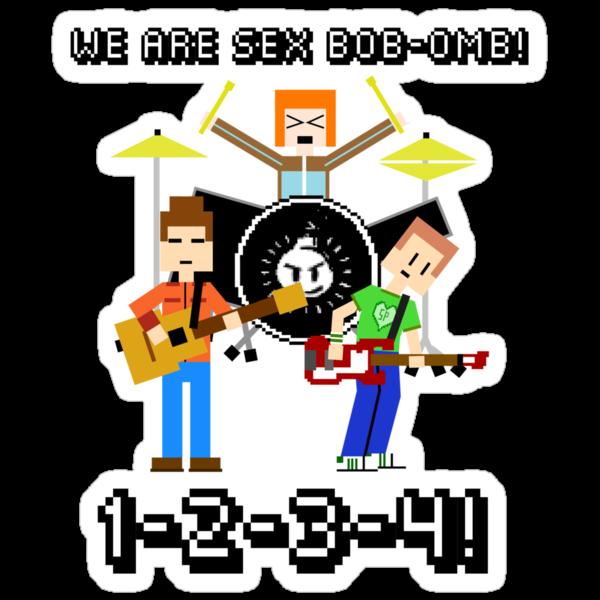 WE ARE SEX BOB-OMB! 8-BIT - Scott Pilgrim by AlexNoir