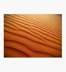 Grains of the Sand Dunes Photographic Print