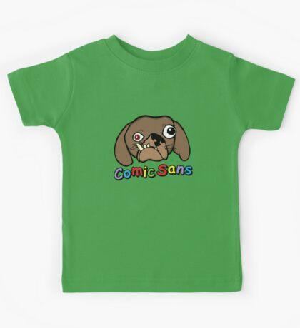 Comic Sans Kids Clothes