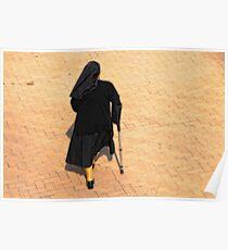 The Walking Nun Poster