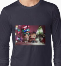 Christmas with Marty and Doc Long Sleeve T-Shirt
