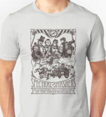 Spectral Smashers on light color T-Shirt