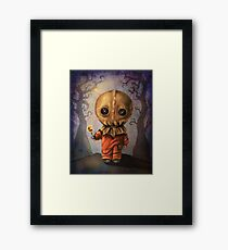 Sam Trick 'R Treat Halloween Framed Print