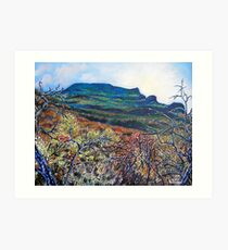 'Grandfather Mountain' Art Print