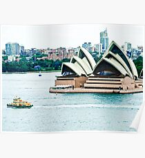 The 7.15 Ferry to Manly Poster