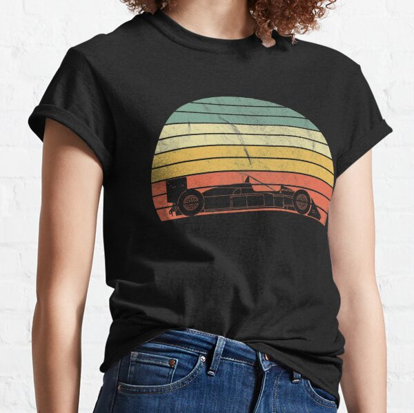 MP4/4 Retro Sunset Classic T-Shirt