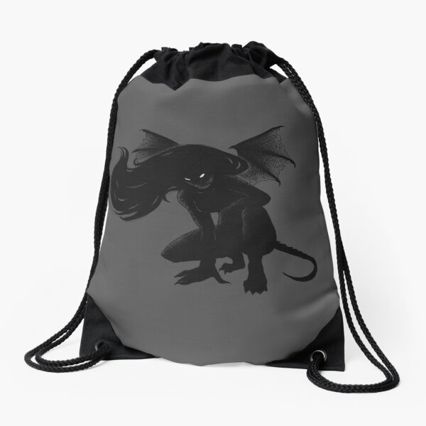 From the pits of Hell Drawstring Bag