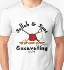 Sallah und Söhne, die Licht ausgraben Slim Fit T-Shirt