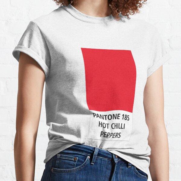 Pantone - Red hot chili peppers Camiseta clásica