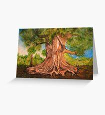 Roots Grow Deep Greeting Card