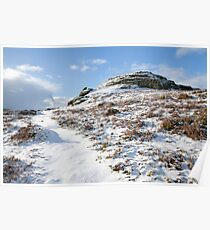 Dartmoor in the Winter time Poster