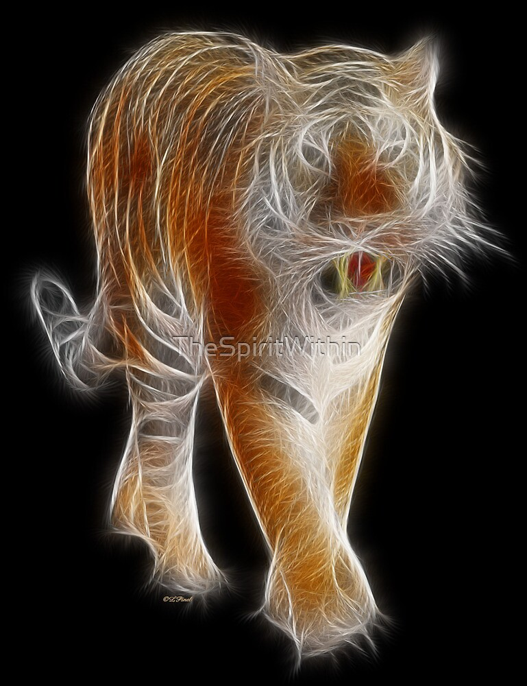 Tiger - Chinese Zodiac by Liane Pinel by Liane Pinel