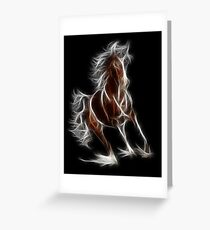 Horse - Chinese Zodiac by Liane Pinel Greeting Card