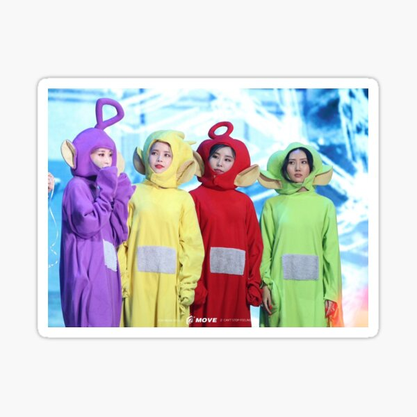 MAMAMOO TELETUBBIES Sticker