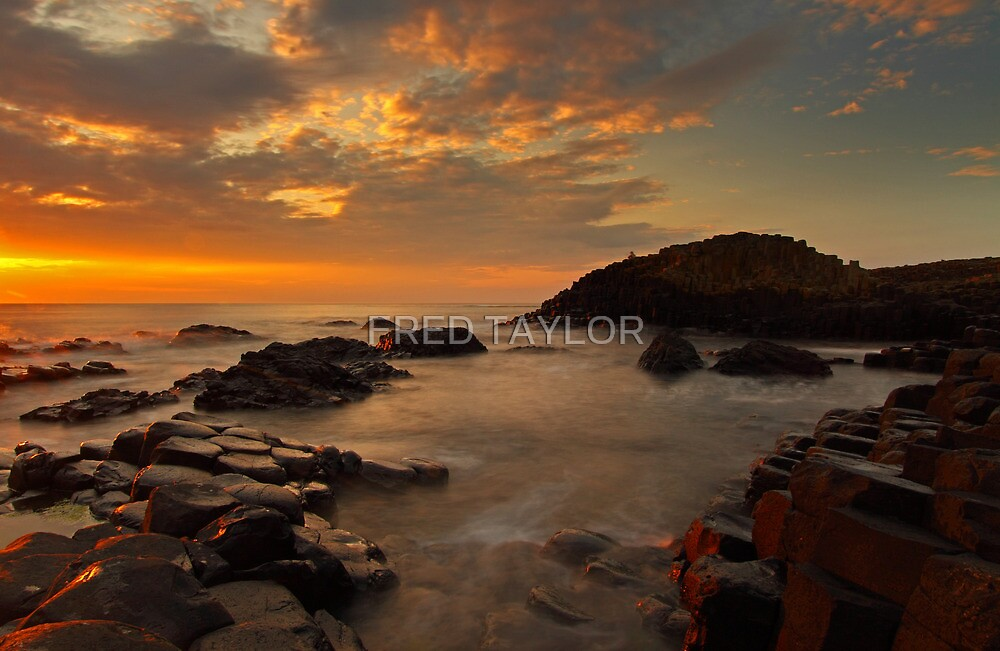 Finn`s Causeway. by Fred Taylor