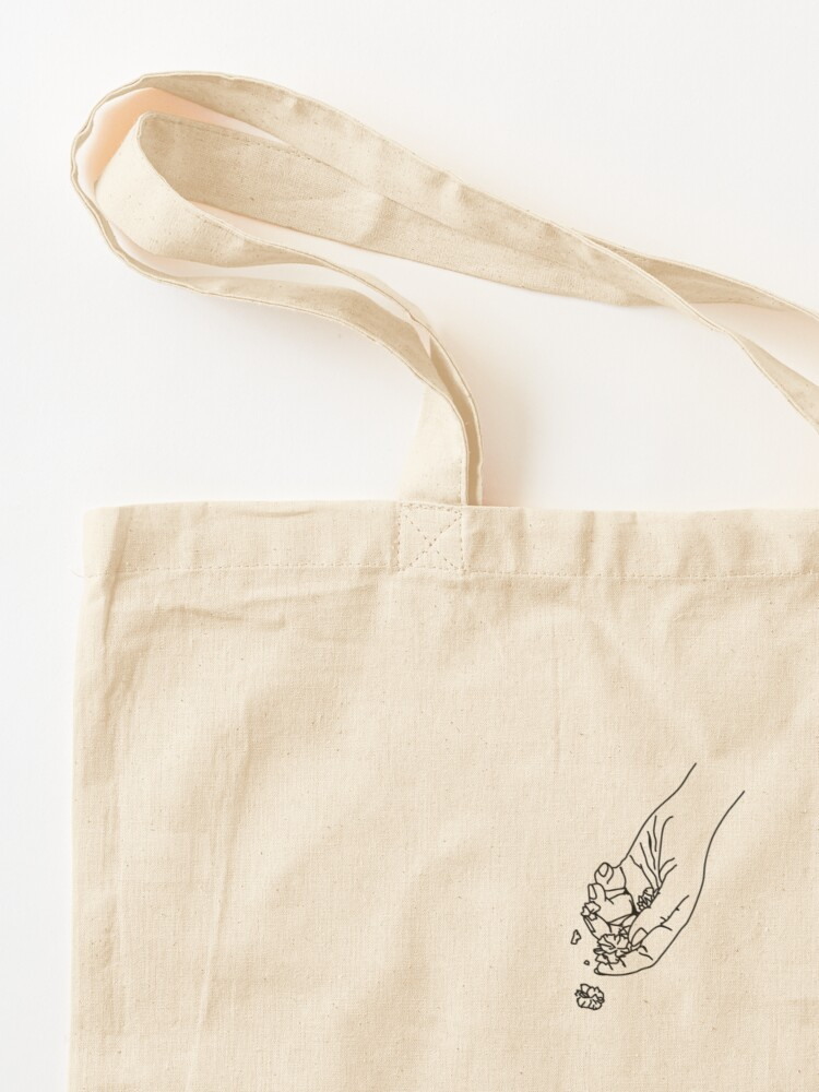 Alternate view of Letting Go Flash Tote Bag
