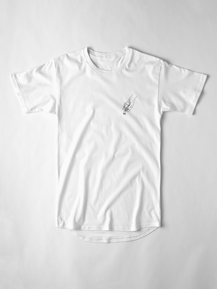 Alternate view of Letting Go Flash Long T-Shirt