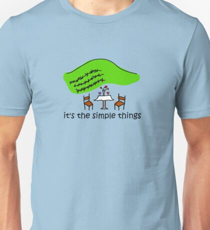 Simple Things - Winery T-Shirt