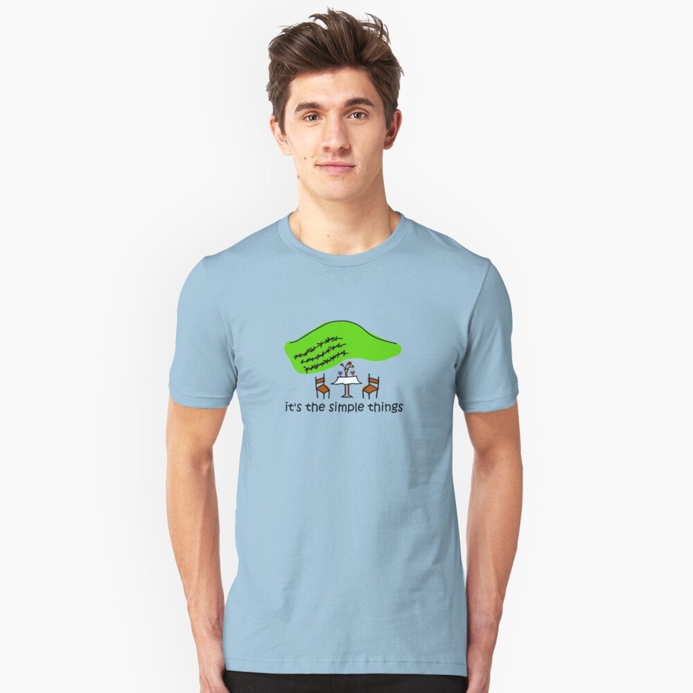 Simple Things - Winery Unisex T-Shirt Front