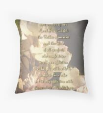 Comfort (for Kay Kempton Raade) Throw Pillow