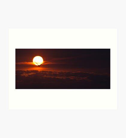 Lake Ontario sunrise  Art Print