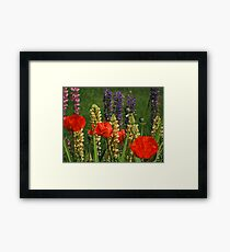 """Flowers"" Framed Print"