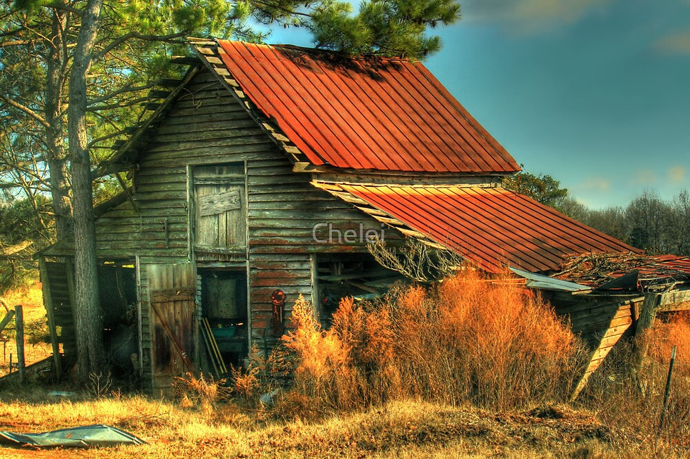 Caudell Road Barn by Chelei