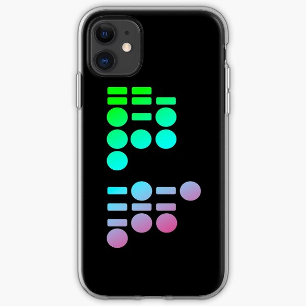 Morse Code iPhone Soft Case