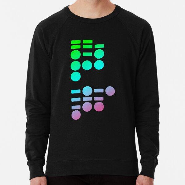 Morse Code Lightweight Sweatshirt