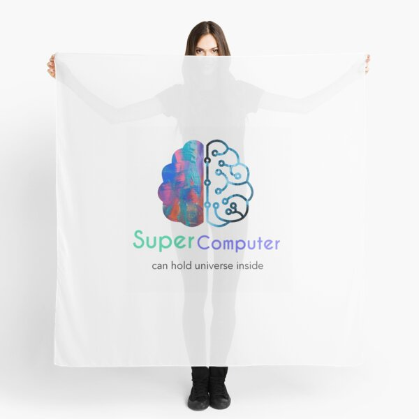 Unique and stylish for a tech lover.  Scarf