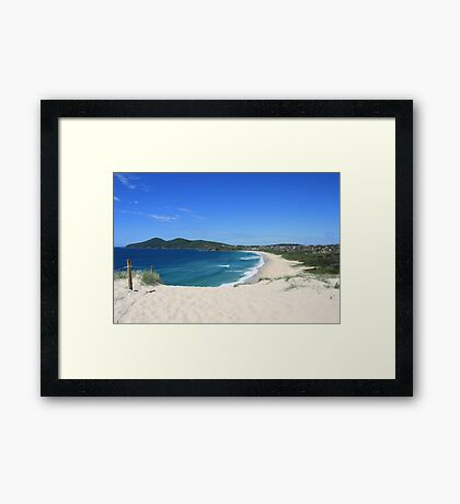 One Mile Beach, Forster, NSW Framed Print