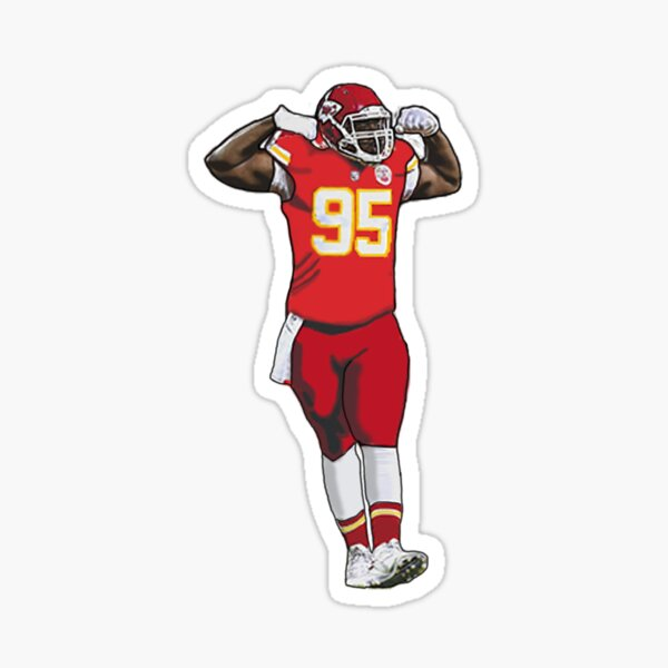 Chris Jones- Kansas City Chiefs Sticker
