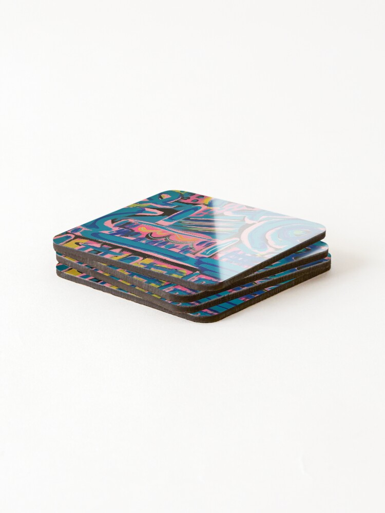 Alternate view of The Way to My Perch Coasters (Set of 4)