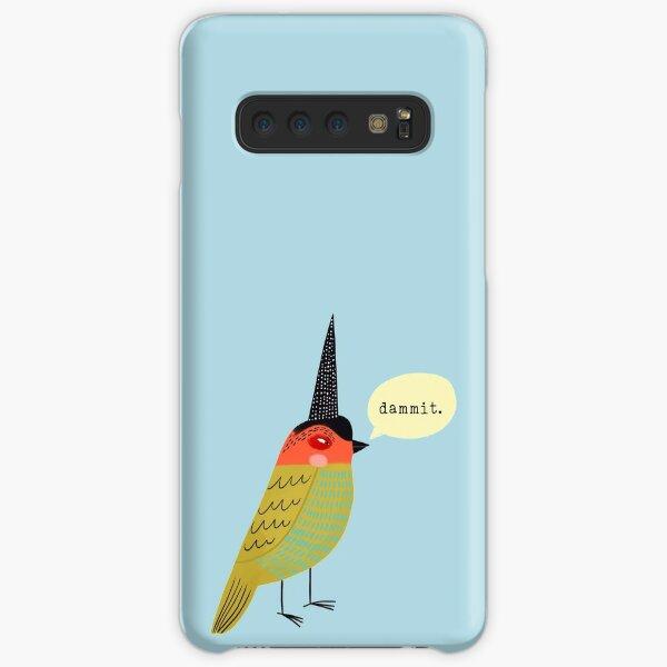 Birds With Attitude: Dammit. Samsung Galaxy Snap Case