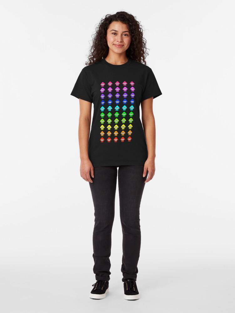 T-shirt classique ''Splatoon Color Plus': autre vue