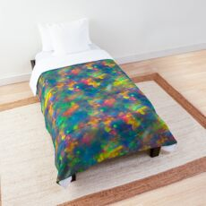 Opal Pattern Abstract Art  Comforter