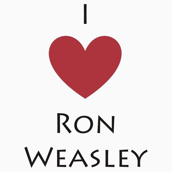 TShirtGifter presents: I Love Ron Weasley 2