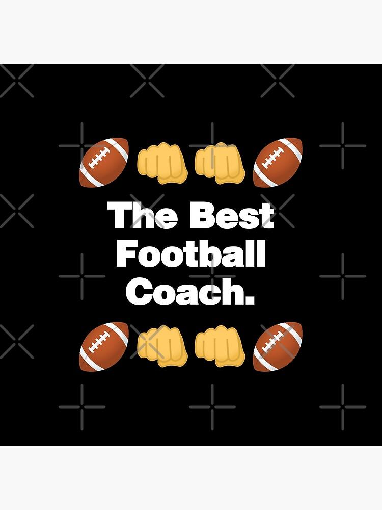 The Best Football Coach Emoji American Football Saying by el-patron