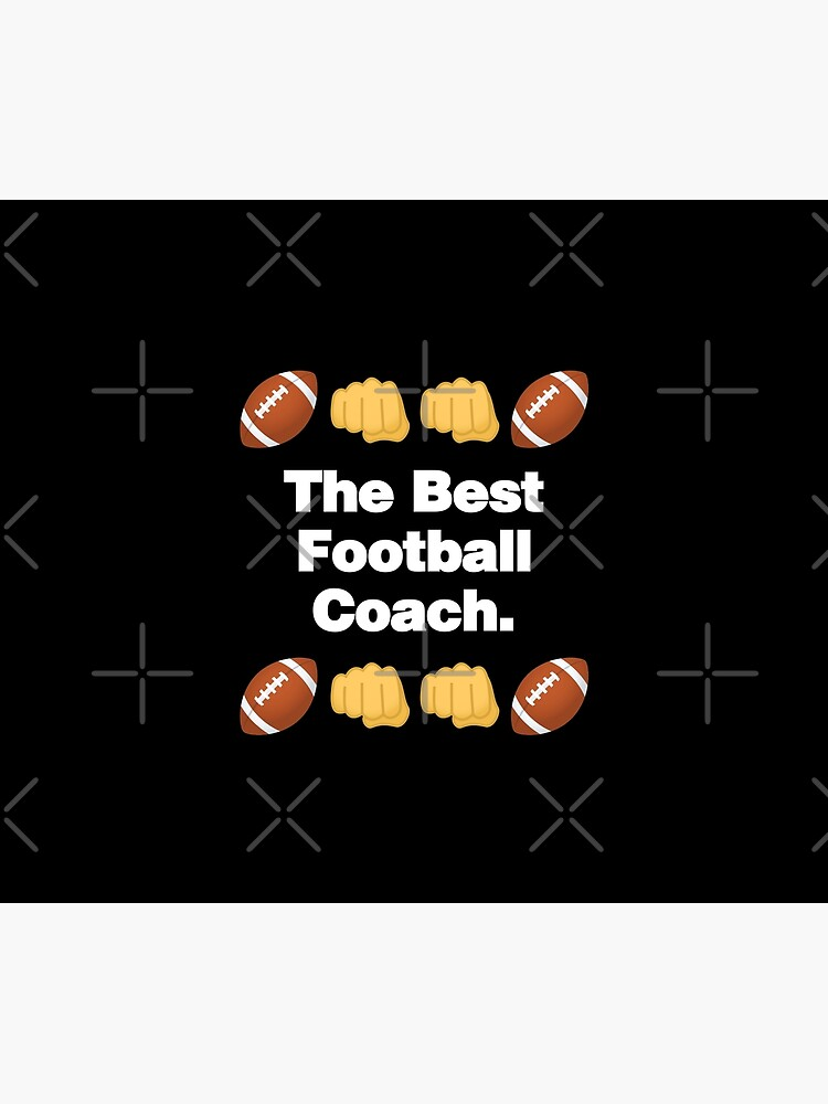 The Best Football Coach Emoji American Football Saying by el-patron