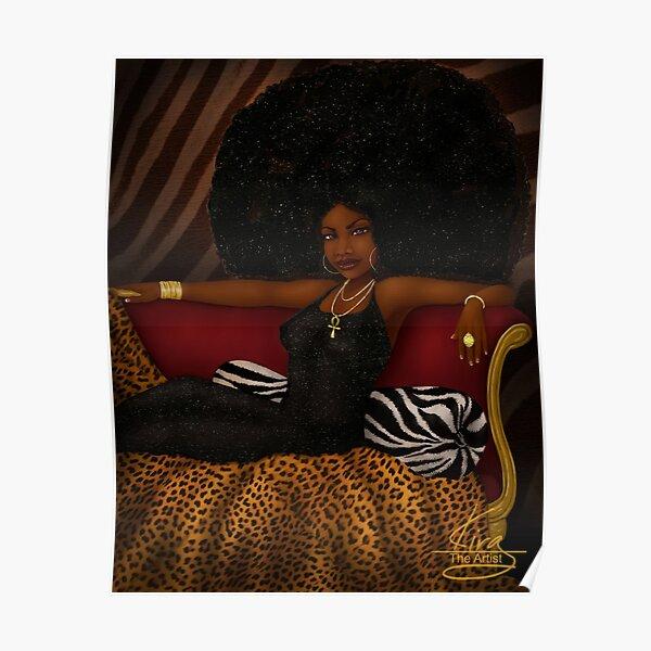 Boss | Black Woman Art Poster