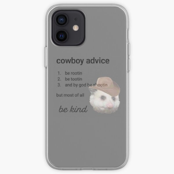conseils de cowboy Coque souple iPhone