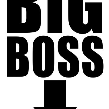 Big Boss de mayestation
