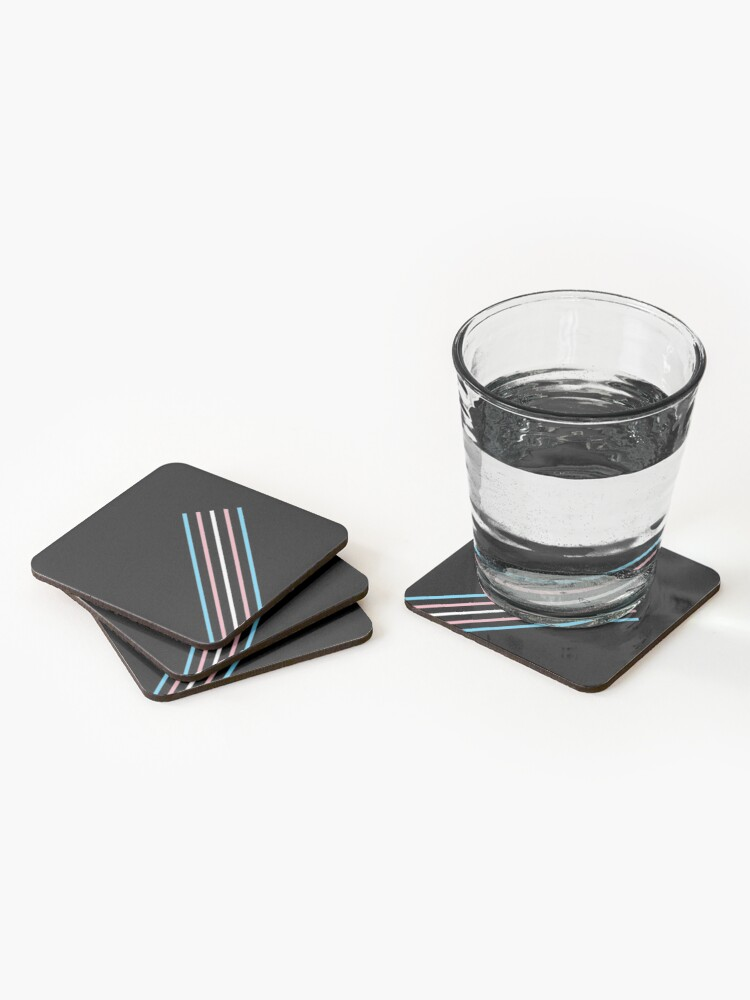 Alternate view of Transcend: On the Rise Coasters (Set of 4)