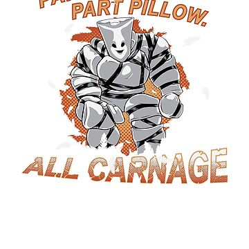 Pillow Man Carnage! by steevinlove