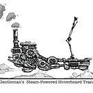 1820's Gentleman's Steam-Powered Transporter by Tom Godfrey