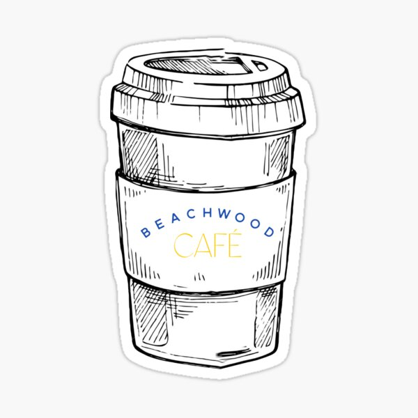 Beachwood Cafe HS Sticker