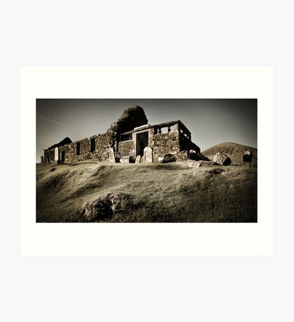 Cill Chriosd Church Art Print