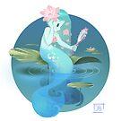Lilypad Mermaid by Julia Blattman