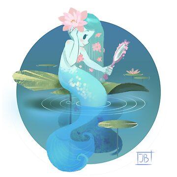Lilypad Mermaid by JuliaBlattman